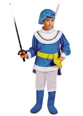Disfraz de Príncipe Azul para niños