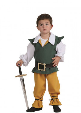 Disfraz de Príncipe Medieval para niño y bebé