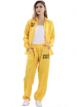 Disfraz de Prisionera Amarilla para mujer