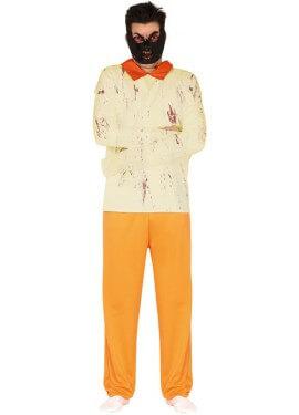 Disfraz de Prisionero Loco para hombre