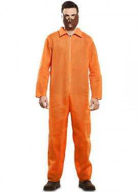 Disfraz de Prisionero Naranja para hombre