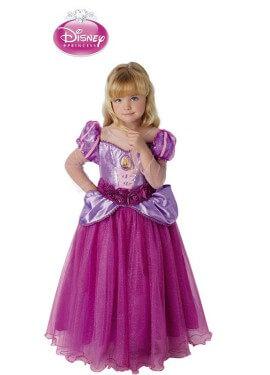 Disfraz de Rapunzel premium de Disney para niña