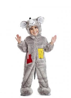 Disfraz de Ratón Peluche para bebé