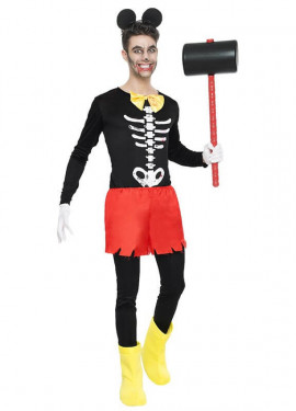 Disfraz de Ratoncito Zombie para hombre