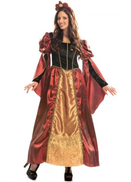 Disfraz de Reina barroca de lujo para mujer