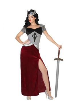 Disfraz de Reina cruzada medieval para mujeres