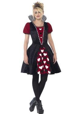Costume da regina di cuori per una donna