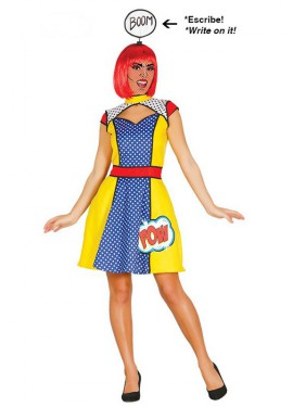 Disfraz de Reina Arte Pop para mujer
