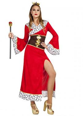 Disfraz de Reina Escarlata para mujer
