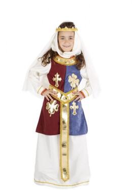 Déguisement Reine Génièvre pour enfants (Plusieurs tailles)