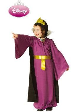Disfraz de Reina Malvada de Blancanieves para niña