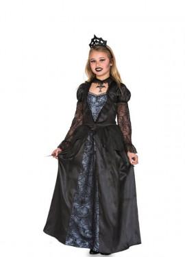 Costume da Regina Cattiva gotica per bambina