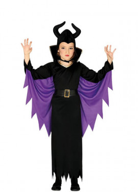 Costume de Regina cattiva per bambina