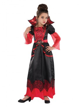Disfraz de Reina Vampira para niñas para Halloween