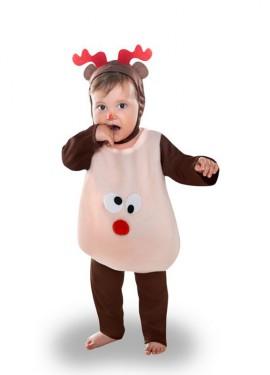 Disfraz de Reno Divertido para bebé