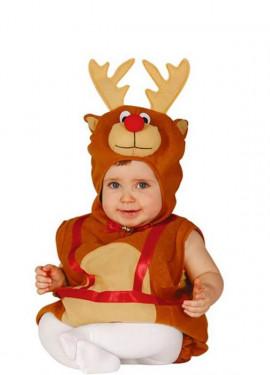 Disfraz de Reno navideño Baby para bebé