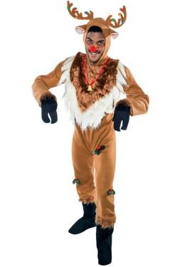 Disfraz de Reno navideño para hombre