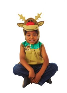 disfraz de reno rodolfo para nios de a aos para navidad