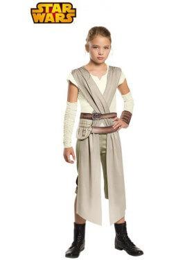 Disfraz de Rey Classic de Star Wars para niña