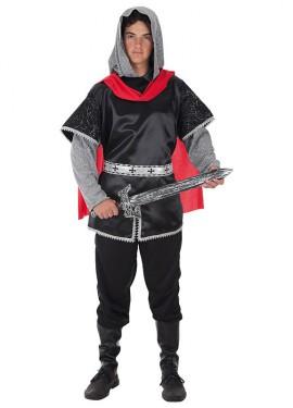 Disfraz de Rey Cruzado medieval para hombre