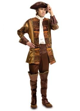 Disfraz de Rey del Renacimiento de lujo para hombre