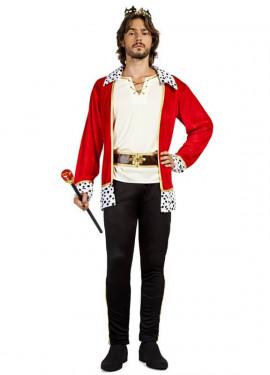 Disfraz de Rey Escarlata para hombre