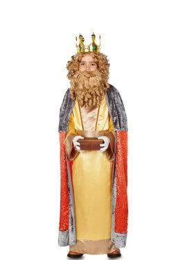 Disfraz de Rey Gaspar para niño