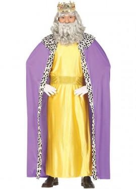 Disfraz de Rey Mago Amarillo para hombre