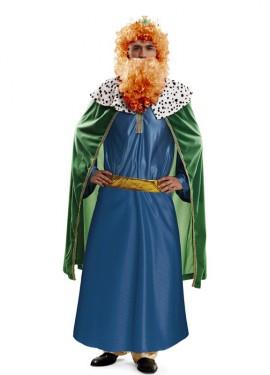 Disfraz de Rey Mago Azul para hombre