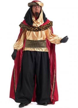 Costume da Re mago baldassarre dorato per uomo