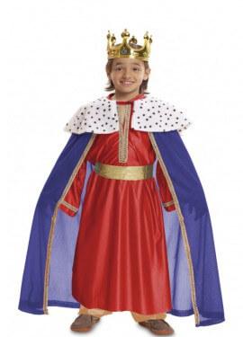 Disfraz de Rey Mago Rojo para bebé