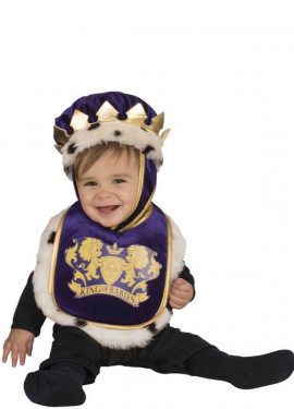 Disfraz de Rey medieval para bebé