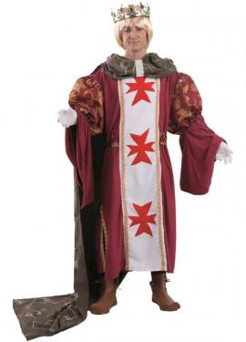 Costume da re medievale per uomo