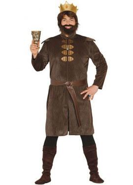 Disfraz de Rey Medieval para hombre