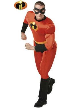 Disfraz de Rober Musculoso de los Increíbles para hombre