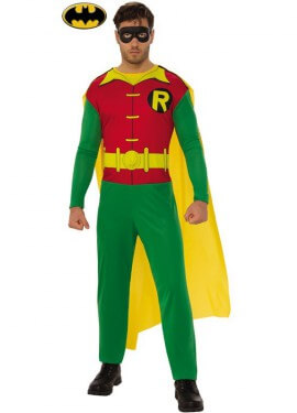 Costume robin batman per un uomo