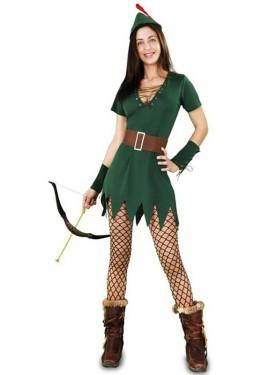 Disfraz de Robin Hood Sexy para mujer