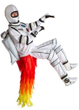 Disfraz de hombre Cohete o Rocket Man para adulto