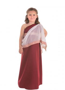 Disfraz de Romana Senatus para niña