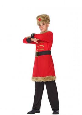 Costume da Russo Rosso per bambini