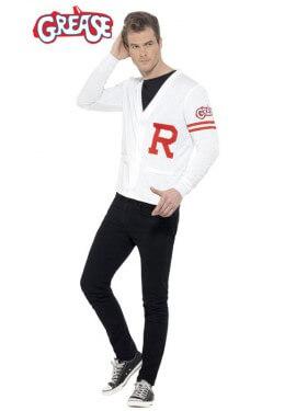 Disfraz de Rydell Prep de Grease para hombre