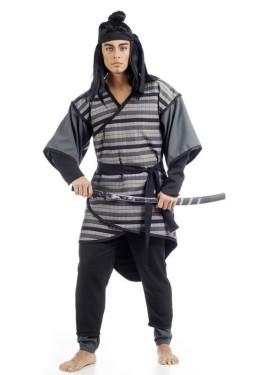 Disfraz de Samurai Kiyoaki para hombre