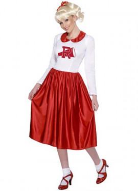 Disfraz de Sandy de Grease Animadora para mujer