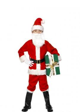 Disfraces de papa noel para navidad - Disfraz de santa claus para nino ...