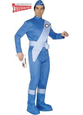 Disfraz de Scott de Thunderbirds Azul para hombre