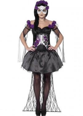Disfraces De Catrina Y Día De Los Muertos Tienda Online 24h