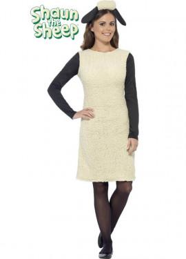 Disfraz de Shaun The Sheep para mujer