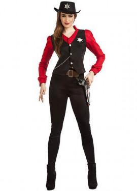 Disfraz de Sheriff para mujer