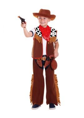 Disfraz de sheriff para niños de 3 a 6 años