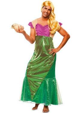 Disfraz de Sirena Sexy para hombre